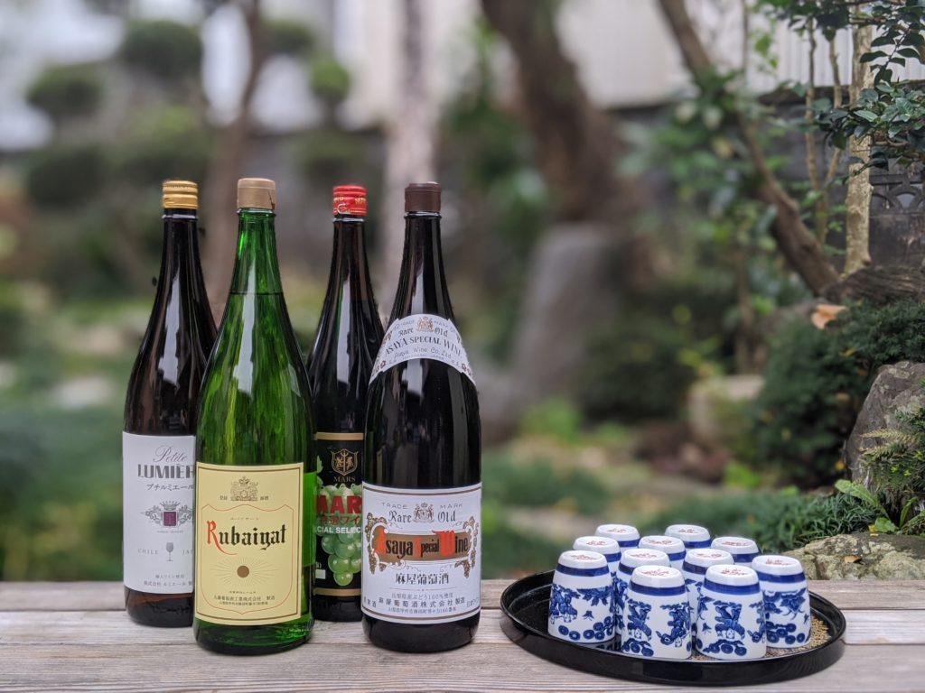 山梨 一升瓶ワイン